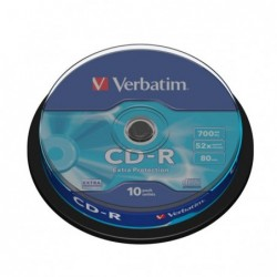 CD-R VERBATIM 80' 700MB 52x...